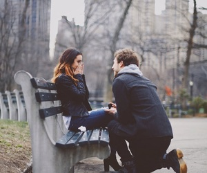 marriage, new york, and proposal image