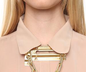 chain, lock, and door image