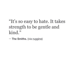 quote, gentle, and kind image