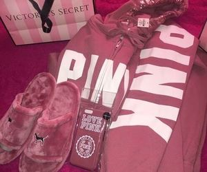 pink and Victoria's Secret image