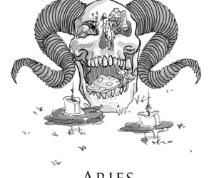 aries, zodiac, and horoscope image