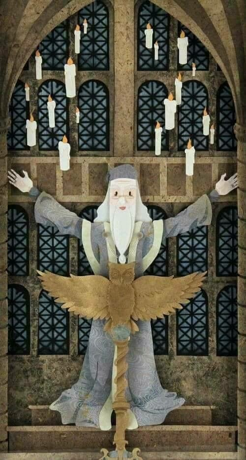 art, harry potter, and dumbledore image