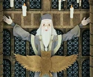 art, dumbledore, and harry potter image