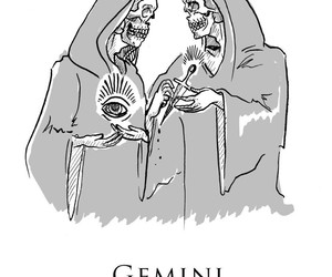 gemini, zodiac, and horoscopo image
