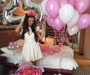 birthday and balloons image