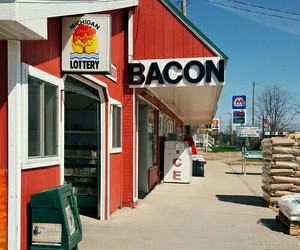 bacon, vintage, and indie image