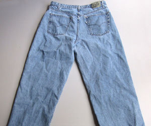 baggy, ebay, and jeans image