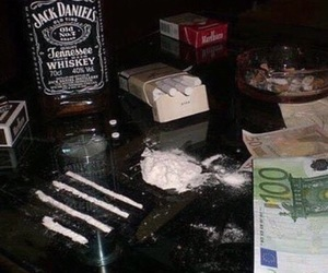 drugs, cigarette, and money image