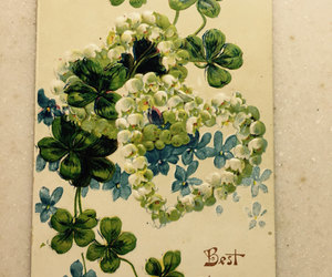 etsy, four leaf clover, and st patrick's day image