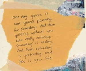 quotes, life, and someday image