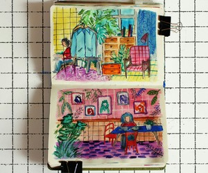 diary, illustration, and tumblr image
