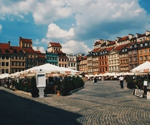 cafe, Houses, and Poland image