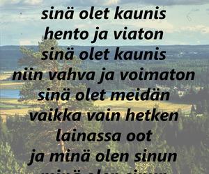finnish, Lyrics, and suvi image
