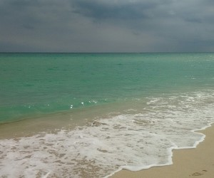 beach, colors, and water image