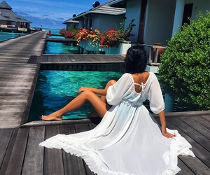 dress and vacation image