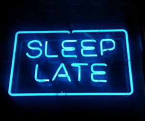 sleep, neon, and grunge image