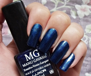 blue, luxor, and manicure image
