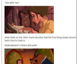 beast, jane, and belle image