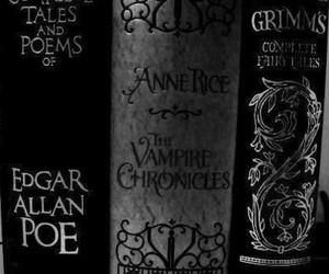 book, edgar allan poe, and horror image