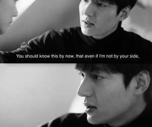 lee min ho, quote, and kdrama image