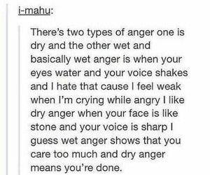 anger, rage, and writing image