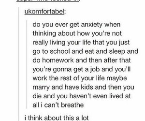 anxiety, life, and stress image