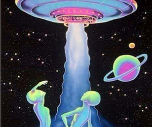 alien, space, and ufo image