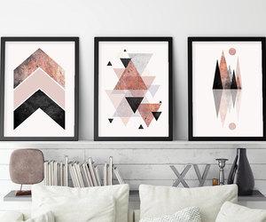 set of 3 prints, scandinavian print, and minimalist poster image