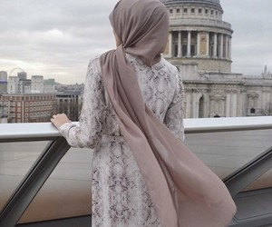 hijab, fashion, and muslim image