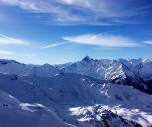 beautiful, Skiing, and switzerland image