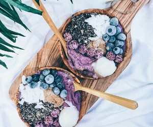 beauty, FRUiTS, and blueberry image