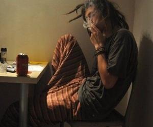 smoke, boy, and dreads image