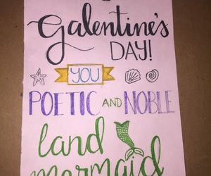 art, galentines, and quotes image