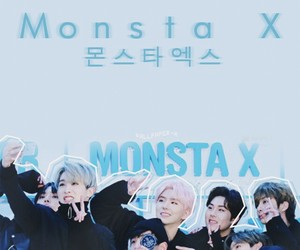 monsta x and kpop image