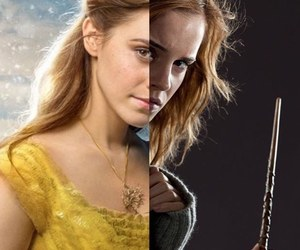 actress, harry potter, and beauty and the beast image