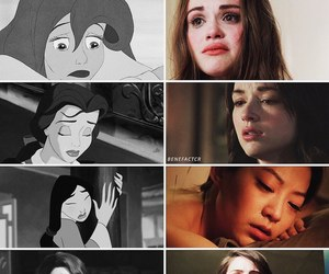 ariel, beauty and the beast, and teen wolf image