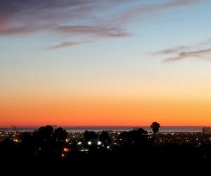 california, light, and night image