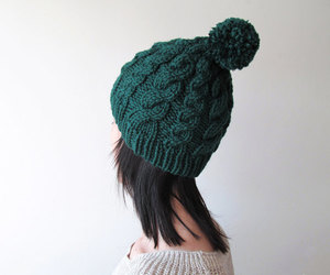 etsy, winter accessories, and hand knit hat image