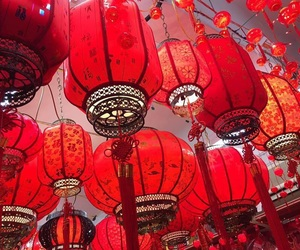 china, festival, and light image