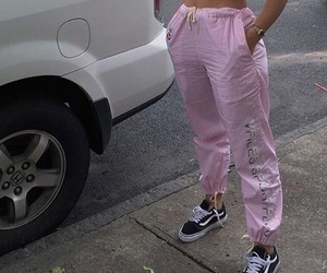 pink, aesthetic, and vans image