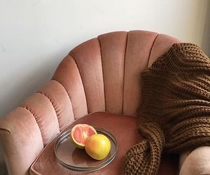 fruit, couch, and home image