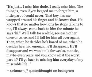 boys, missing you, and Relationship image