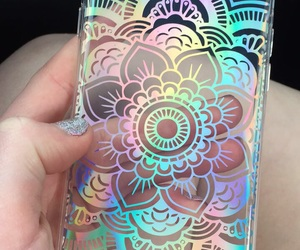 holographic, phone, and phone case image