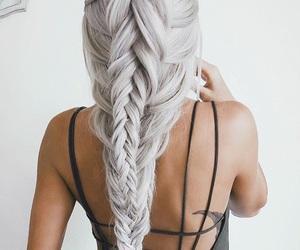 bikini, braid, and girls image