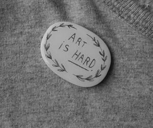 art, quotes, and grey image