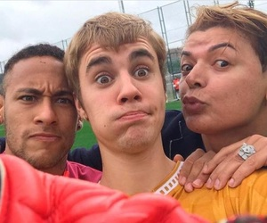 justin bieber, neymar, and neymar jr image
