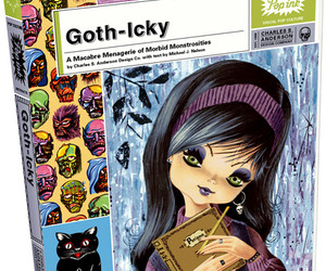goth, macabre, and goth-icky image