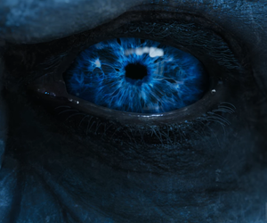 game of thrones, a song of ice and fire, and white walker image