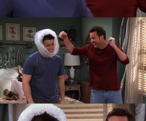 90's, chandler, and Joey image