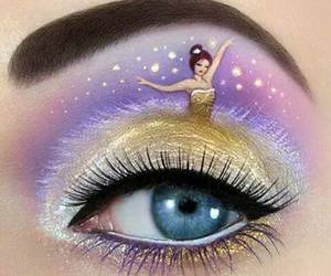 art, eye, and make up image